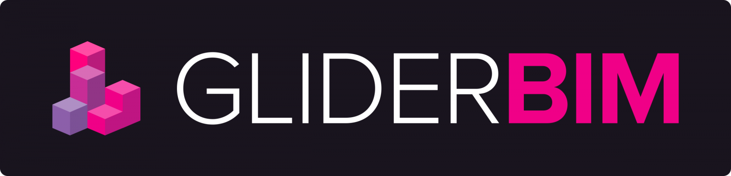 GliderBIM logo long