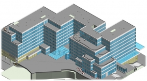 3D BIM Modeling of Multi-storey Mix-used Building