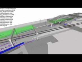 4D simulation for Infrastructural projects